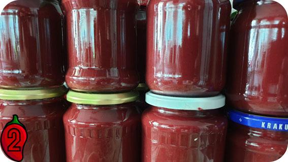 gotowy sos w słoikach