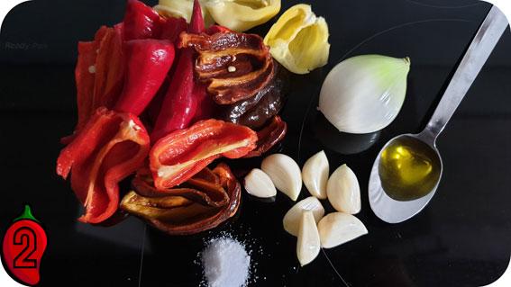 składniki na sambal oelek