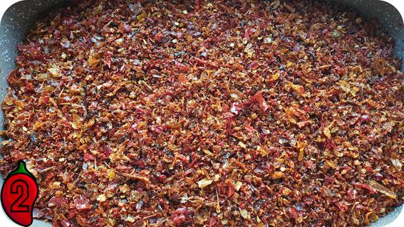 wysuszona zmielona papryka chili