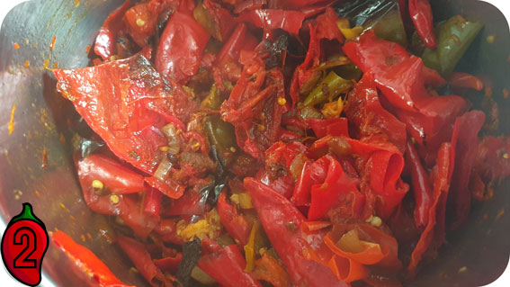 sambal prawie gotowy